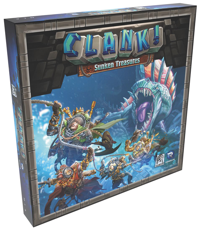 Clank!: Sunken Treasures Expansion Box Front