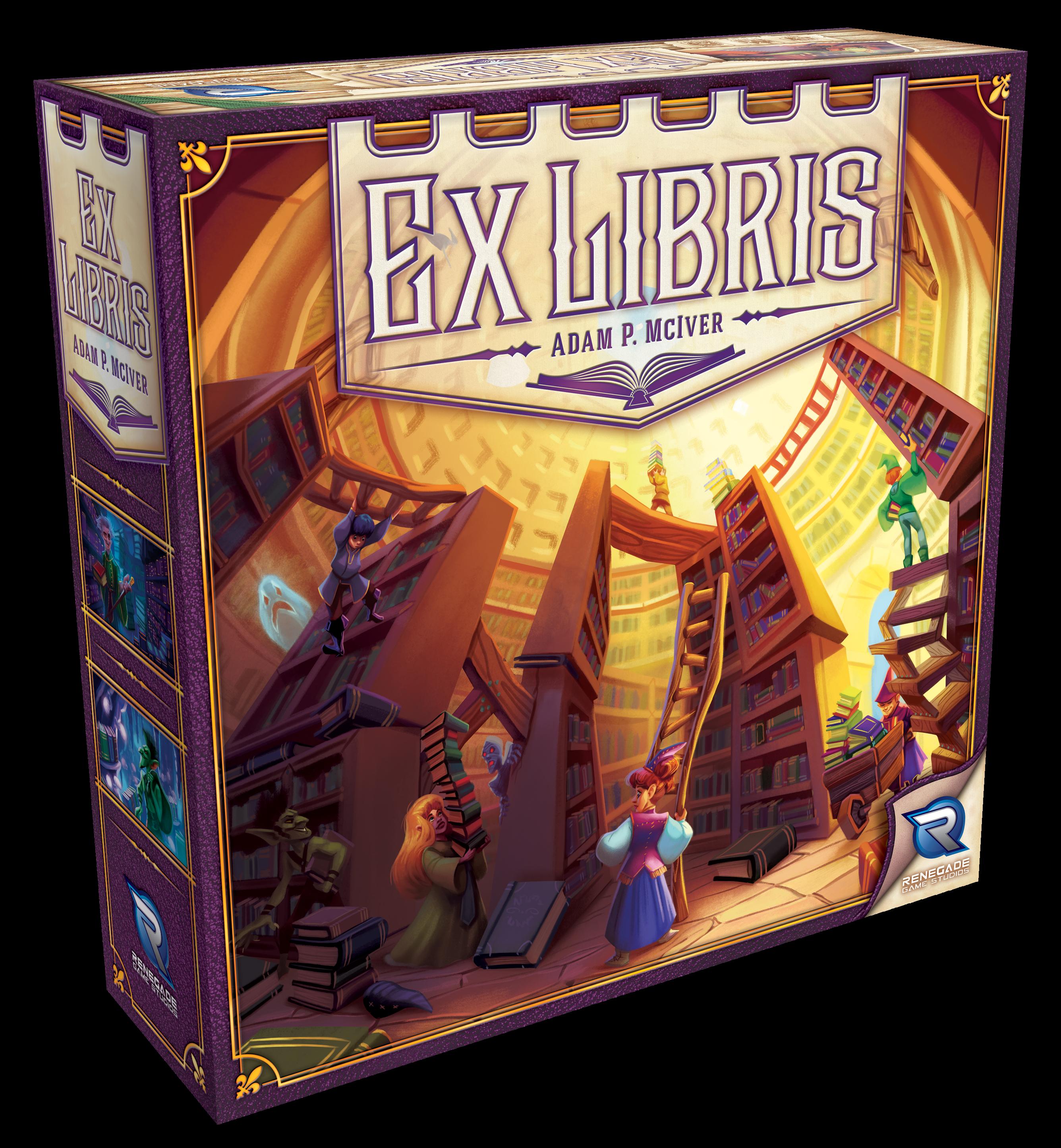 Ex Libris Demo Copy Pr1 Box Front