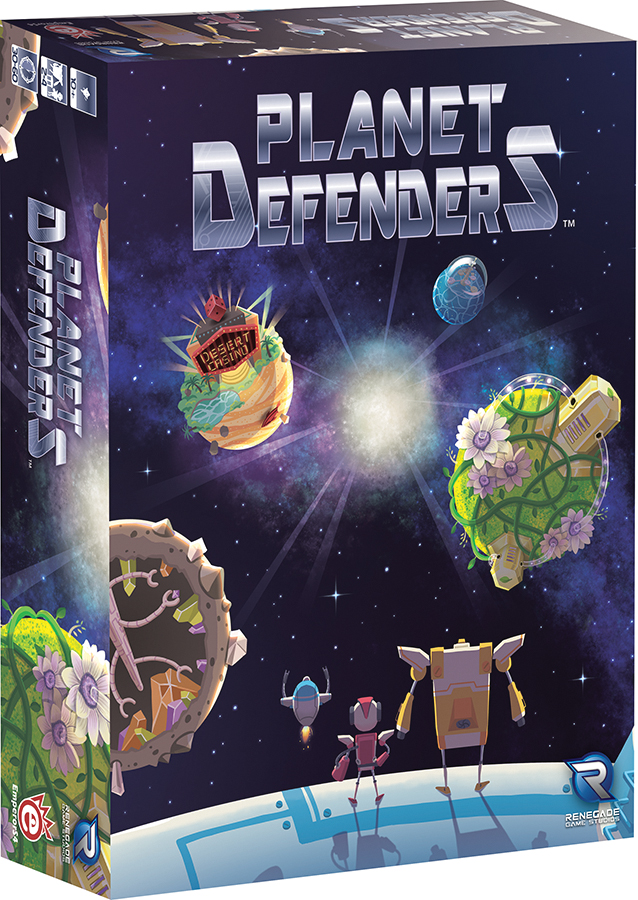 Planet Defenders Box Front