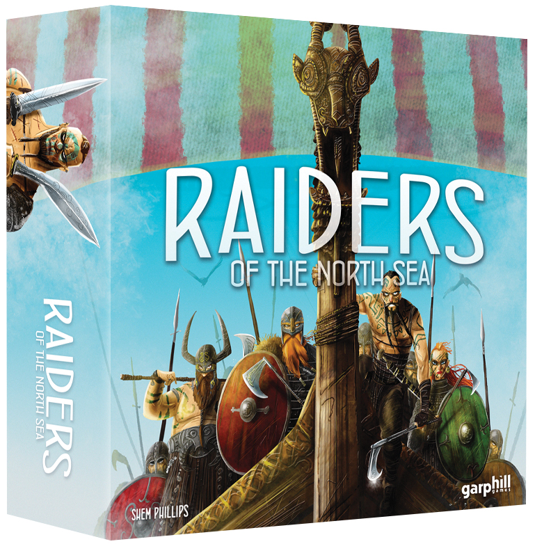 Raiders Of The North Sea Box Front