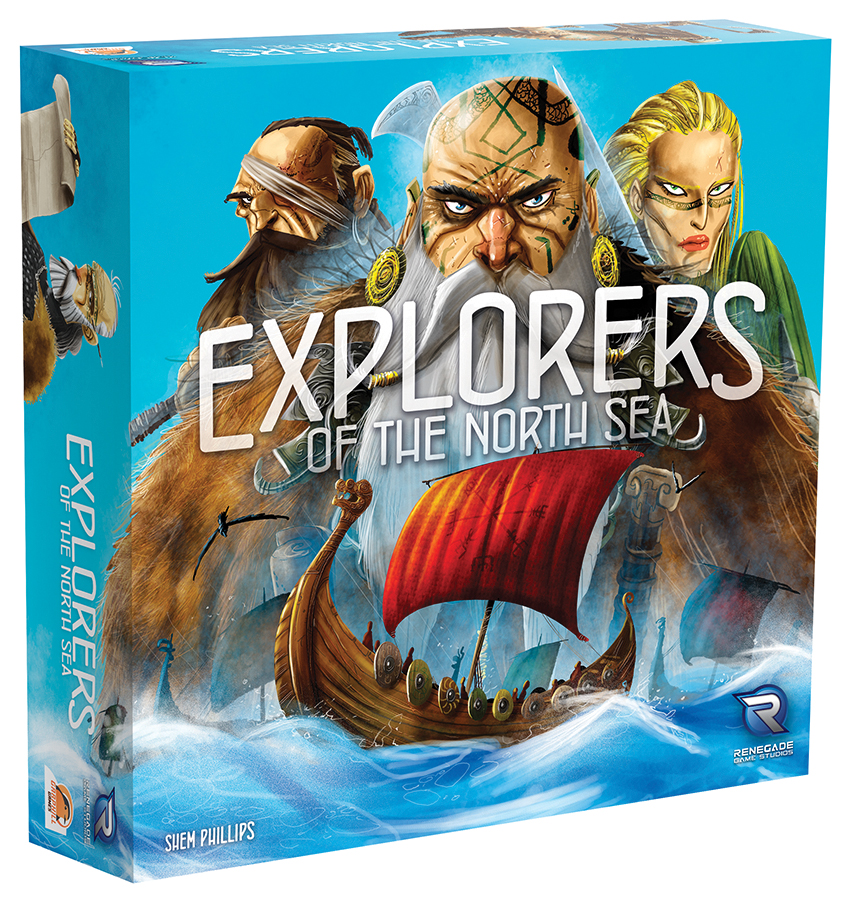 Explorers Of The North Sea Box Front
