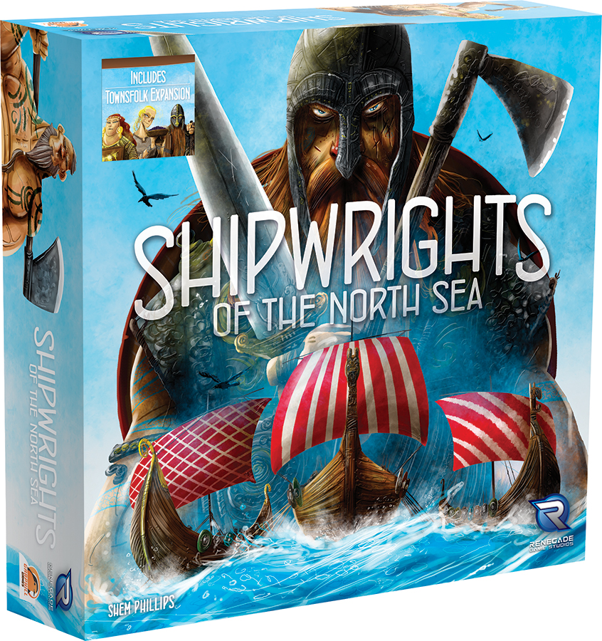 Shipwrights Of The North Sea Box Front