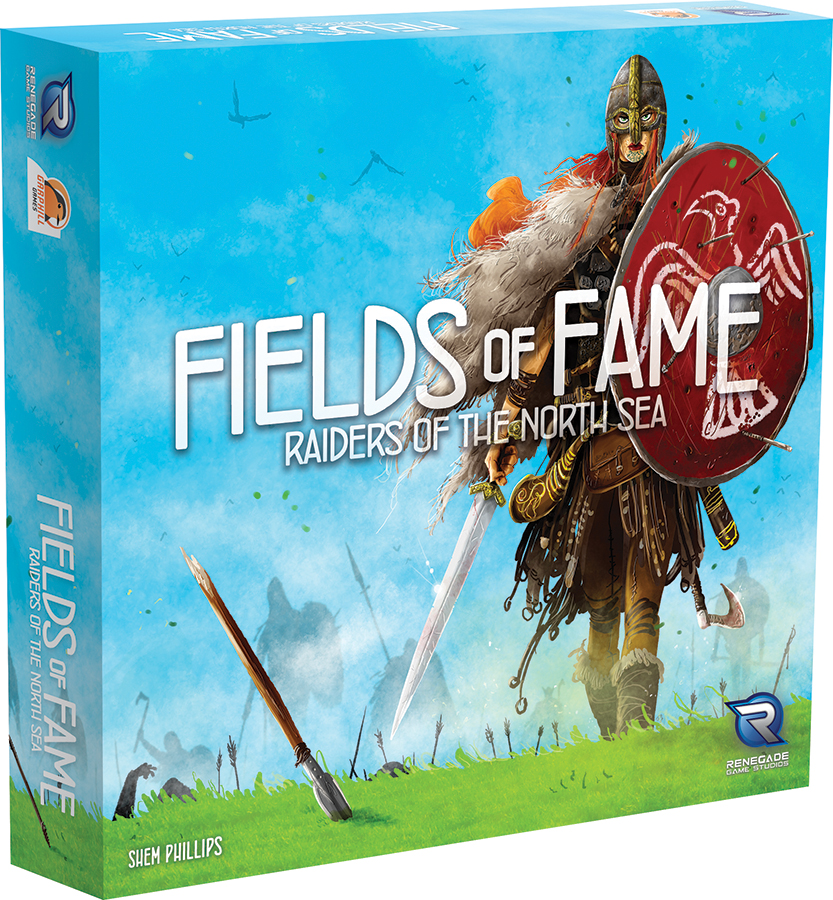 Raiders Of The North Sea: Fields Of Fame Box Front