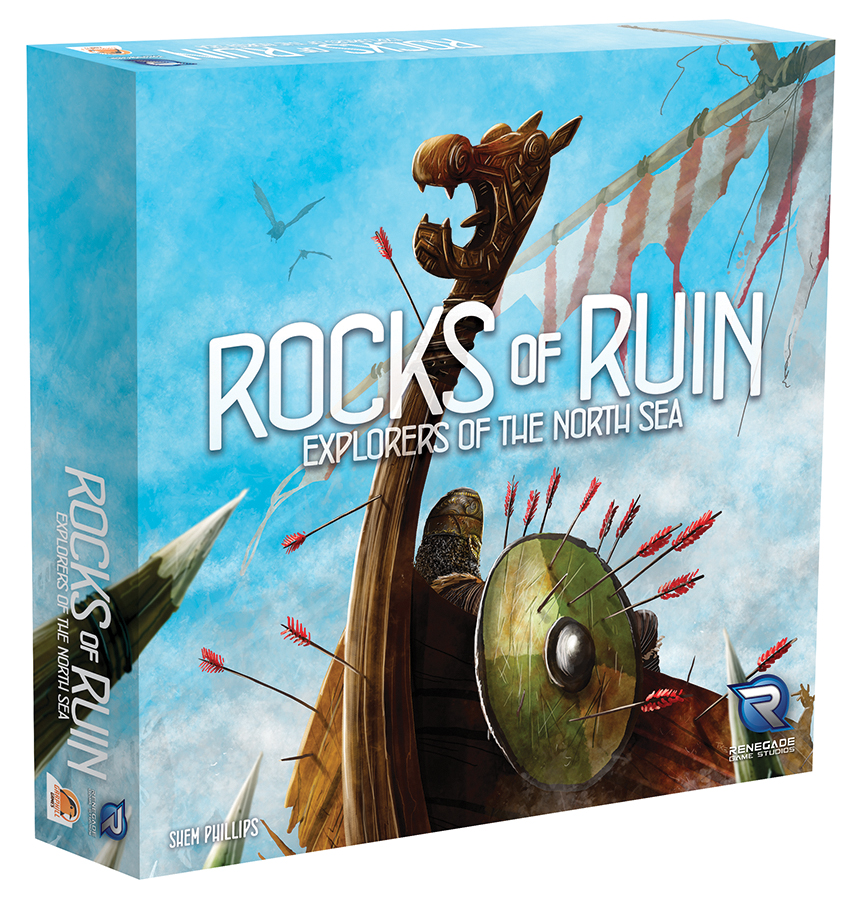 Explorers Of The North Sea: Rocks Of Ruin Expansion Box Front
