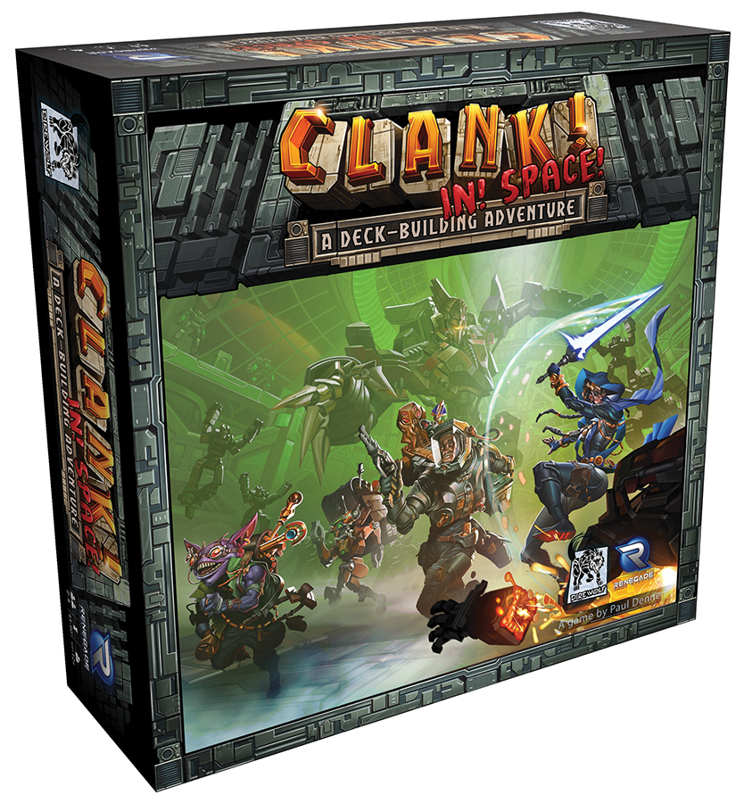 Clank! In! Space! Box Front