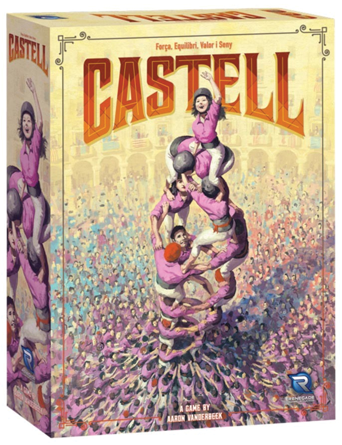 Castell Box Front