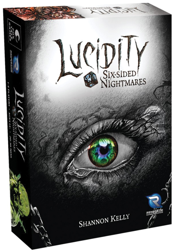 Lucidity: Six-sided Nightmares Box Front