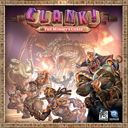 Clank! The Mummy`s Curse Expansion Box Front