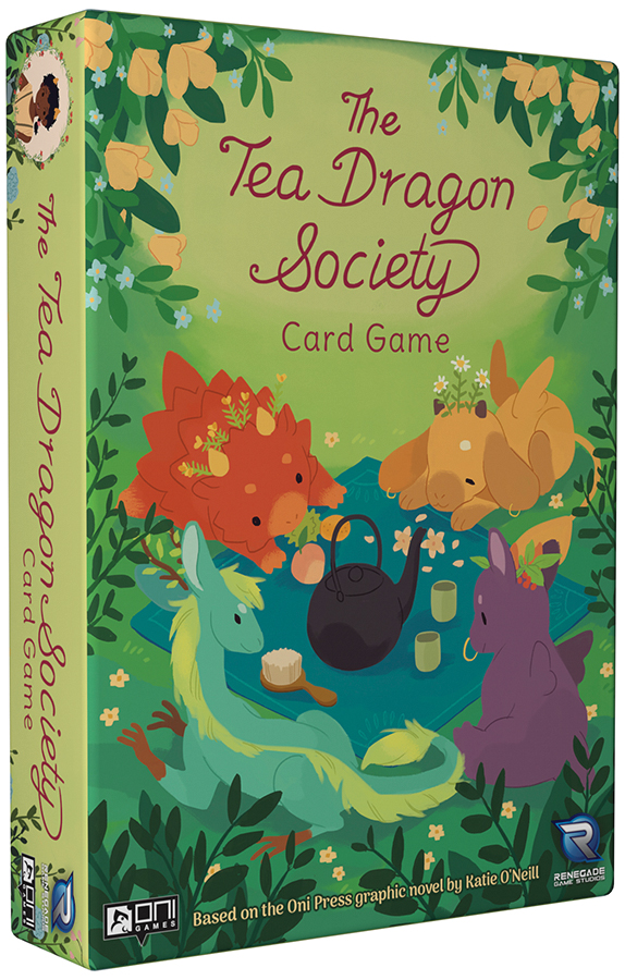 The Tea Dragon Society Card Game Box Front