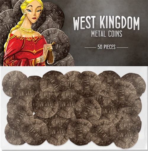 Architects Of The West Kingdom: Coins (50) Game Box