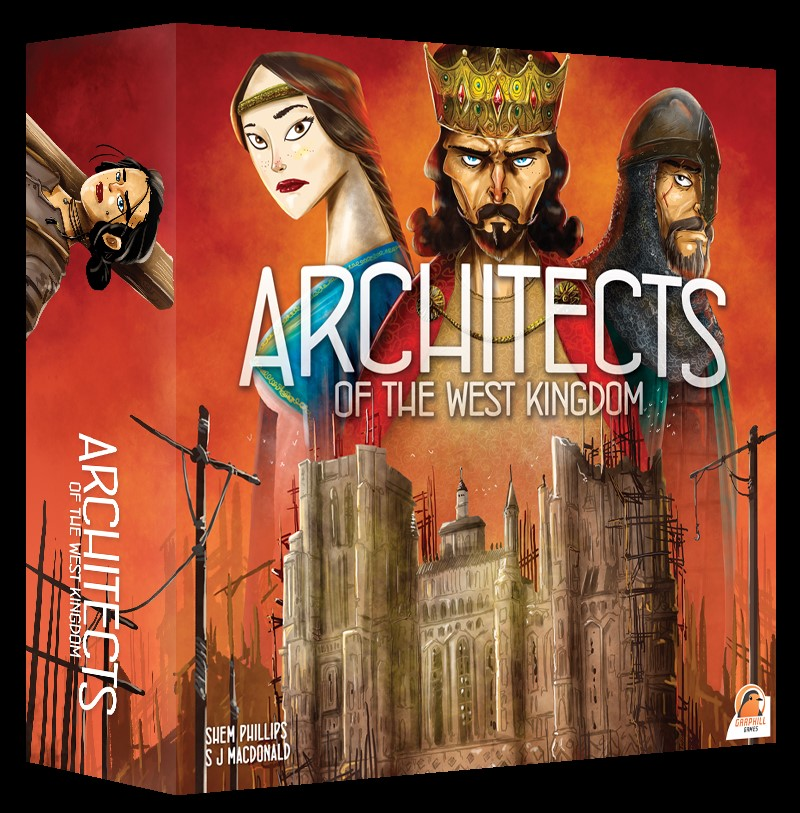 Architects Of The West Kingdom Box Front