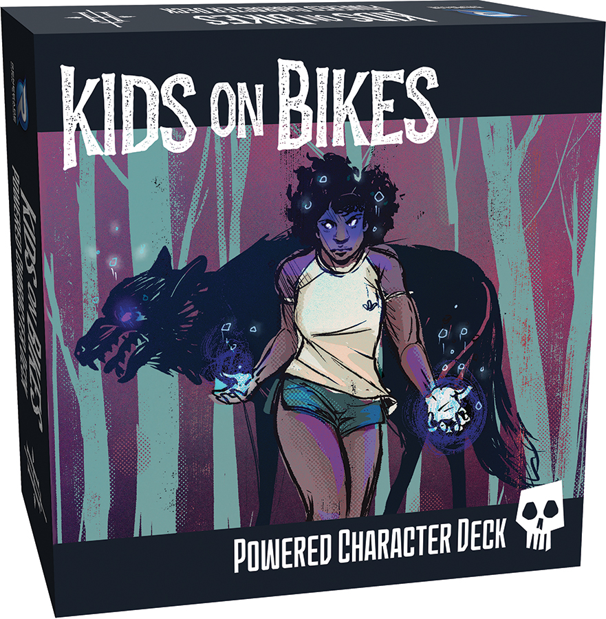 Kids On Bikes Rpg: Powered Character Deck Box Front