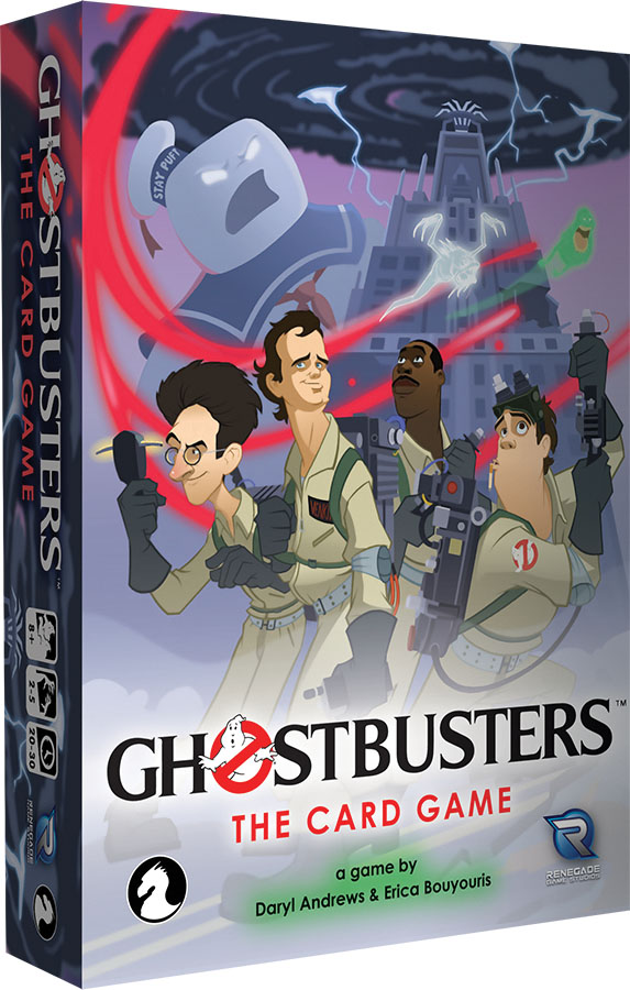 Ghostbusters: The Card Game Game Box