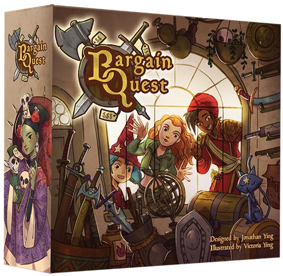 Bargain Quest Game Box