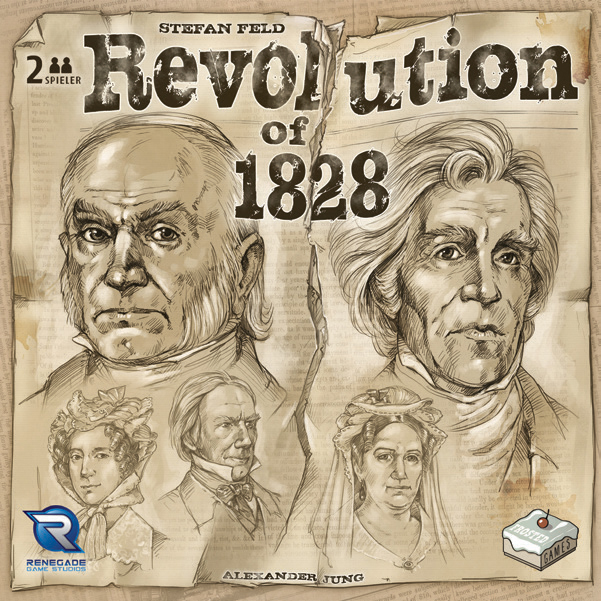 Revolution Of 1828 Game Box