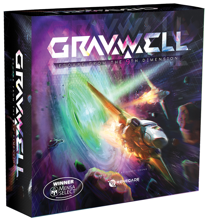 Gravwell: Escape From The 9th Dimension Box Front