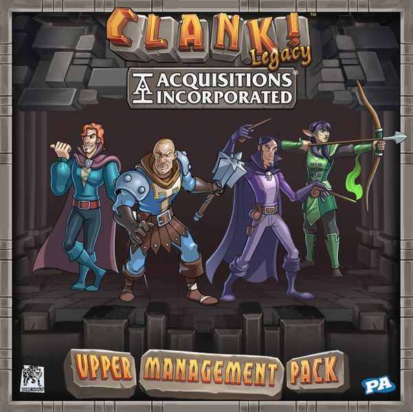 Clank! Legacy Acquisitions Incorporated Upper Management Pack Game Box