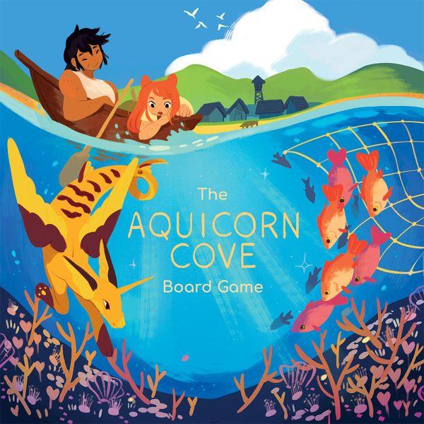 Aquicorn Cove Demo Copy Game Box