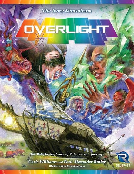 Overlight: The Ivory Mausoleum Game Box