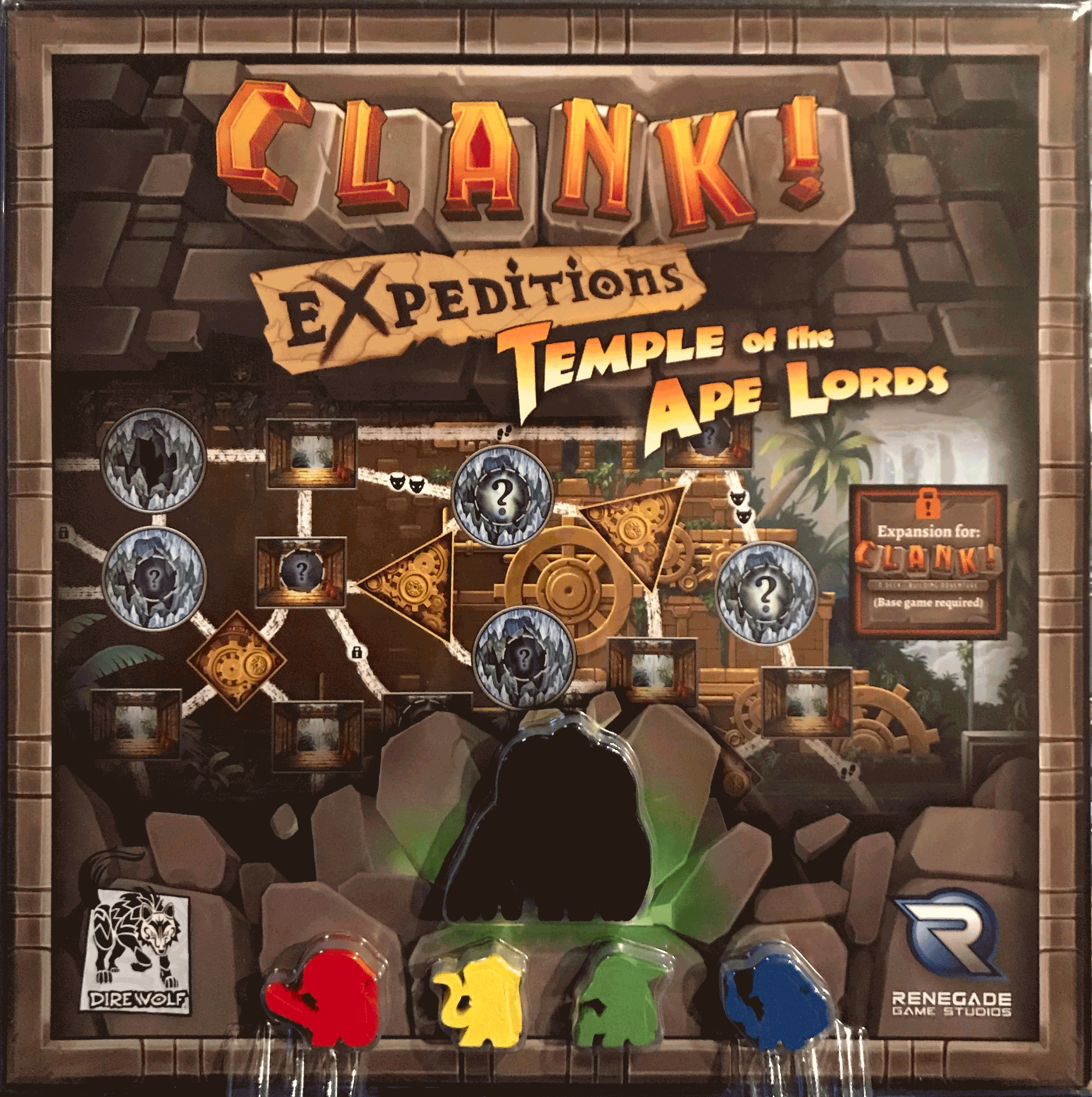 Clank! Expeditions: Temple Of The Ape Lords Expansion Game Box