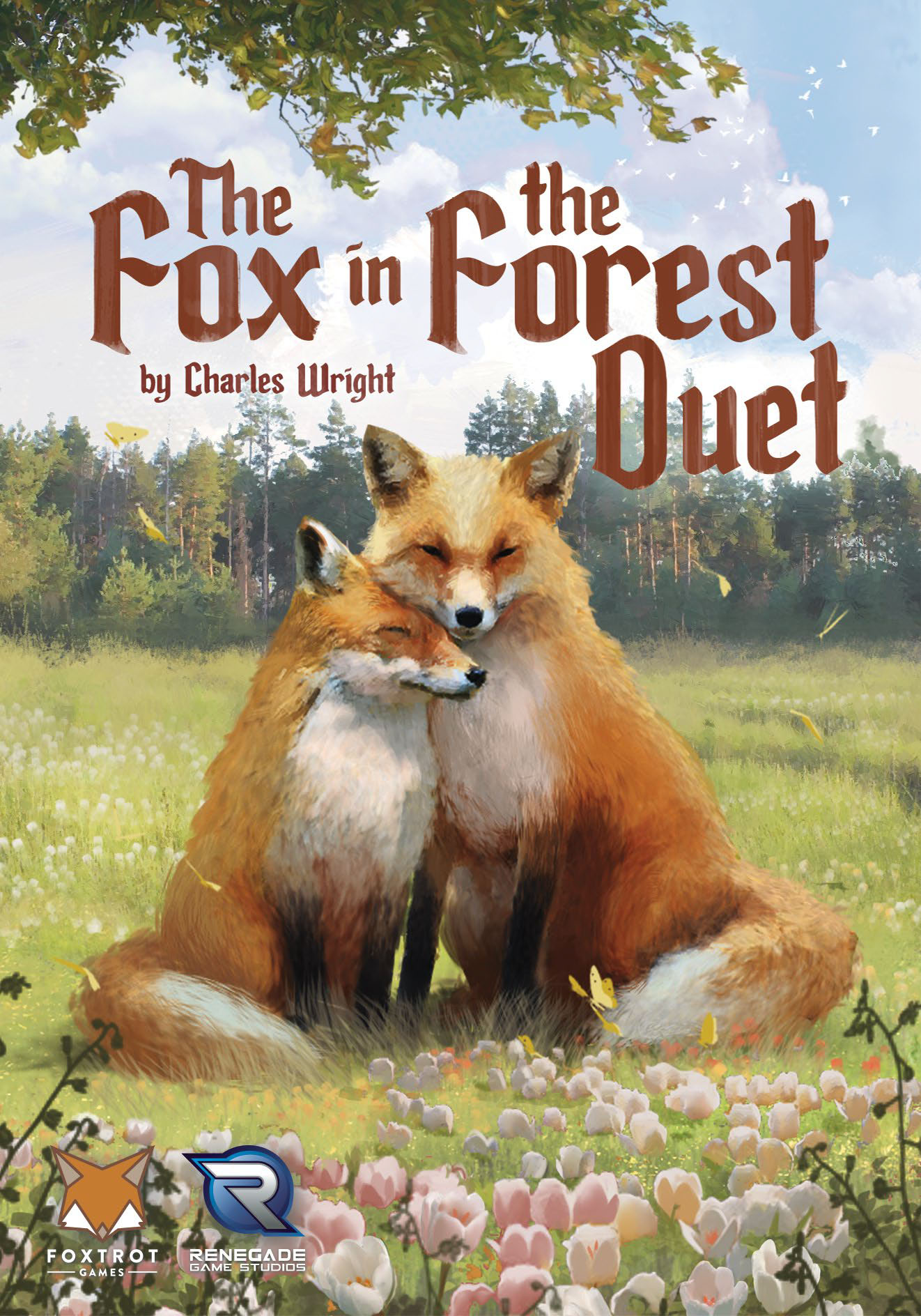 The Fox In The Forest Duet Game Box