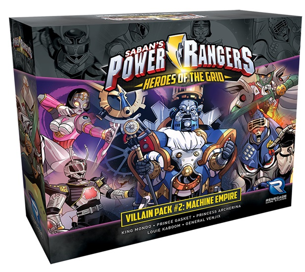 Power Rangers - Heroes Of The Grid: Villain Pack #2 - Machine Empire Expansion