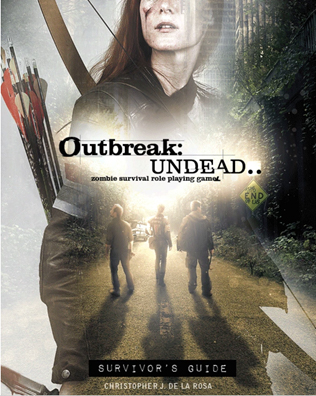 Outbreak Undead 2nd Edition: Survivor`s Guide Game Box