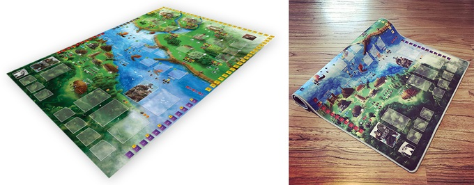 Raiders Of The North Sea: Play Mat Game Box