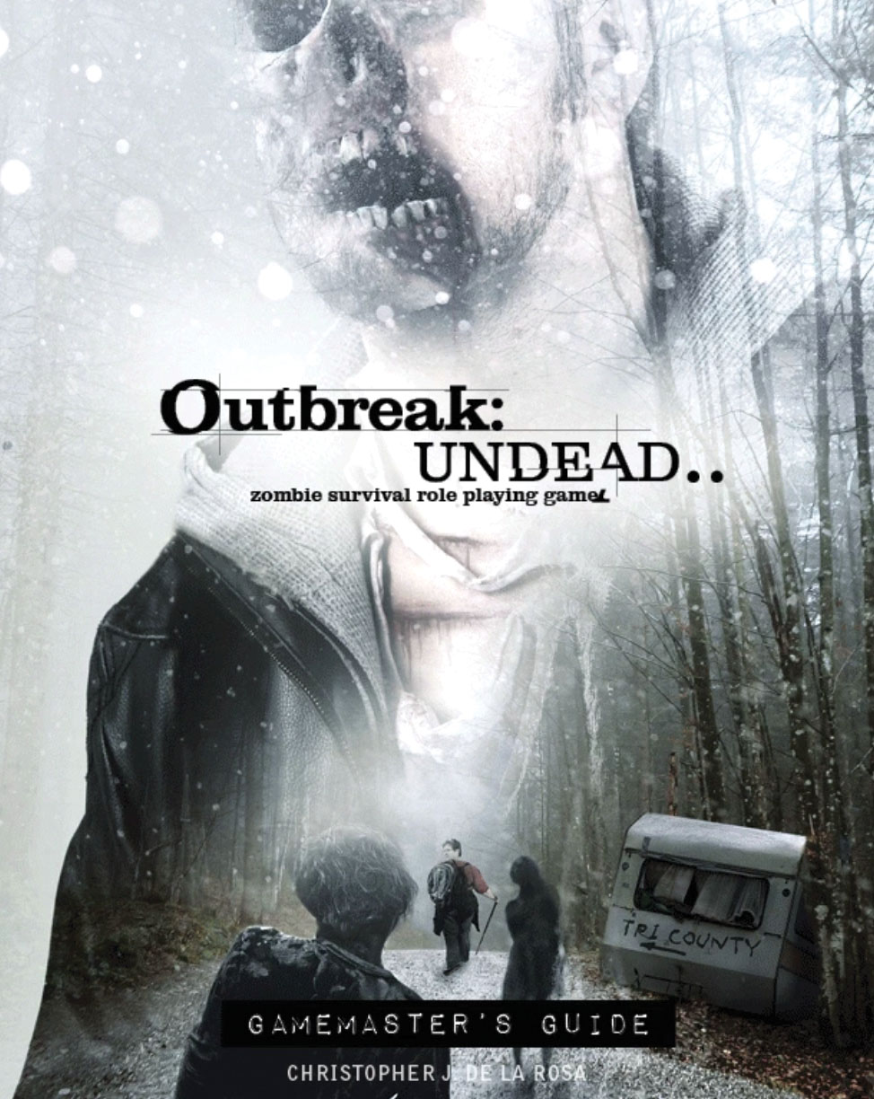 Outbreak Undead 2nd Edition: Gamemaster`s Guide Game Box