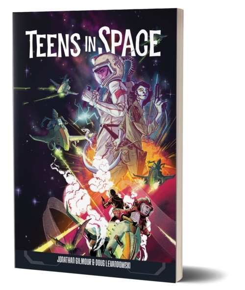 Teens In Space Game Box