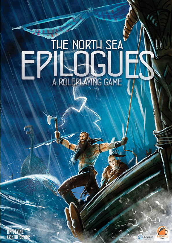 The North Sea Epilogues: A Roleplaying Game Game Box