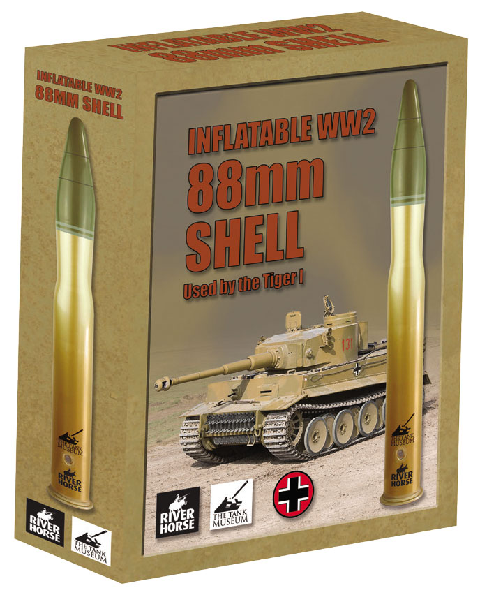 Inflatable Ww2 88mm Shell (used By The Tiger 1)