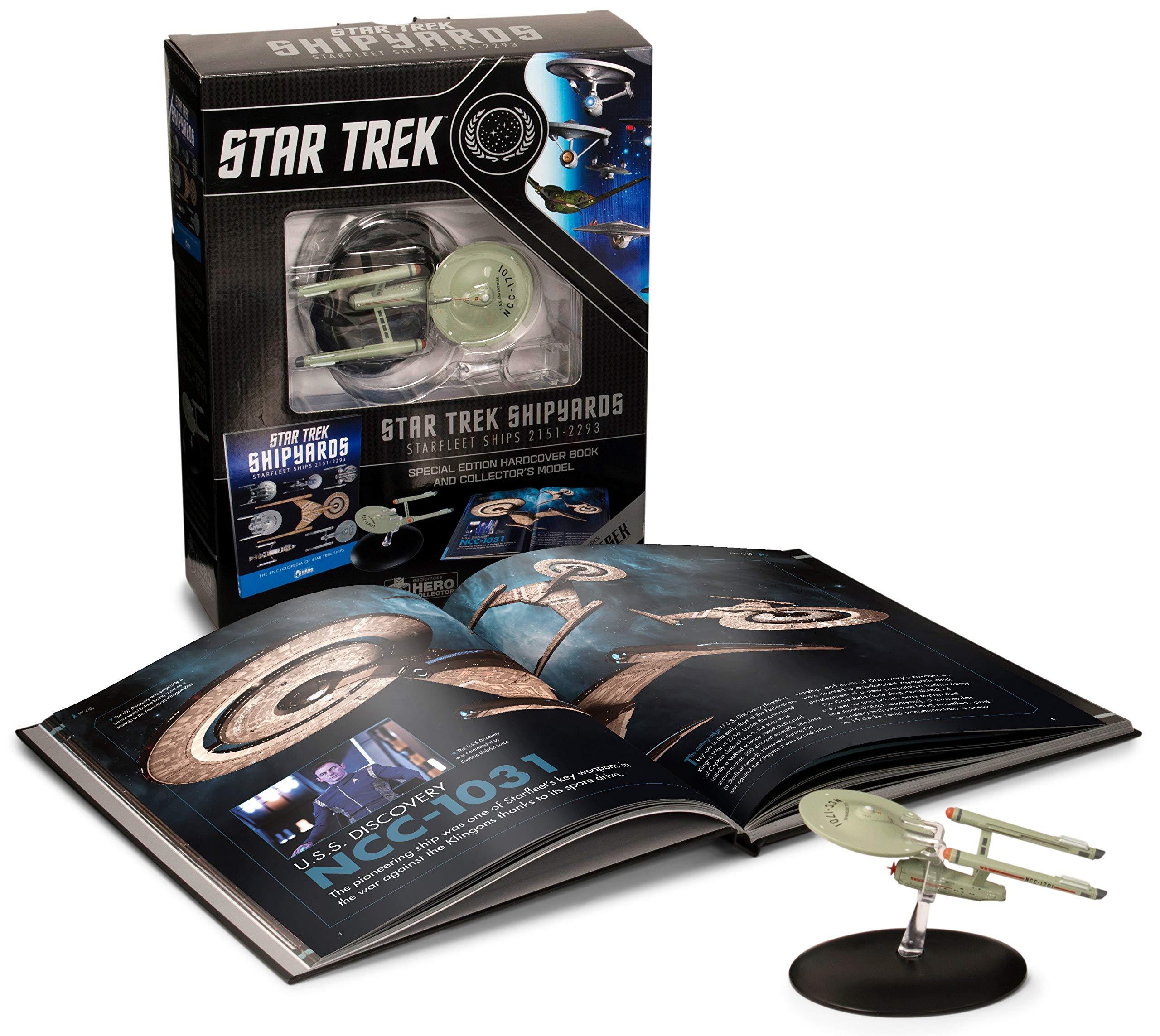 Star Trek Shipyards Star Trek Starships 2151-2293 The Encyclopedia Of Starfleet Ships Plus Collectible
