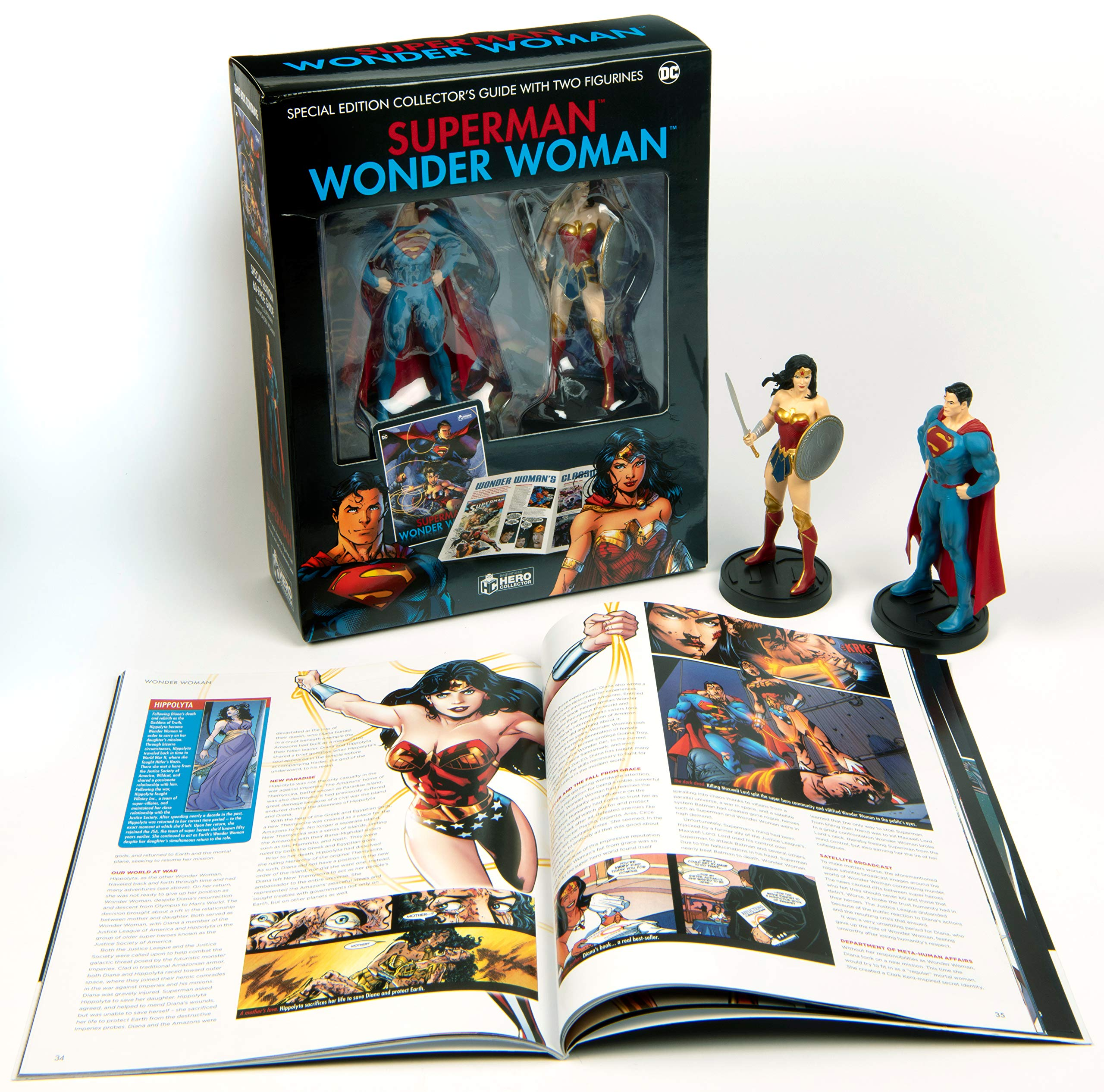 Supermand And Wonder Woman Plus Collectibles