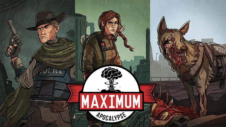 Maximum Apocalypse Box Front