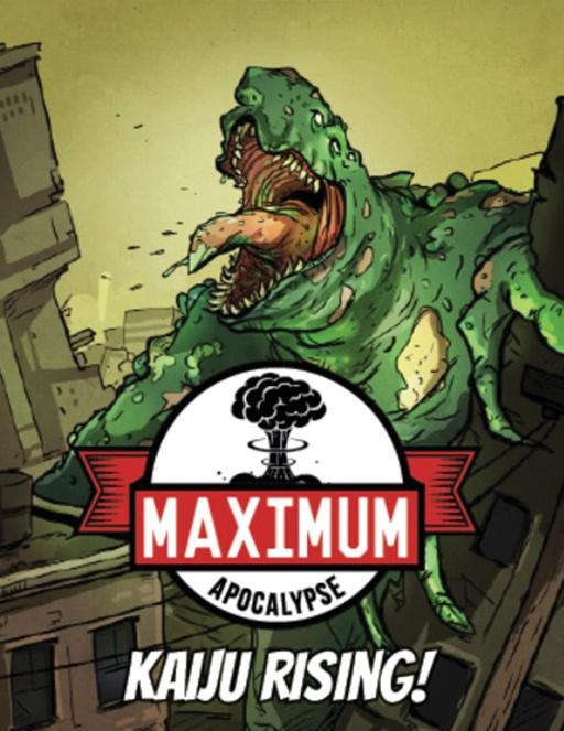 Maximum Apocalypse: Kaiju Rising Expansion Box Front