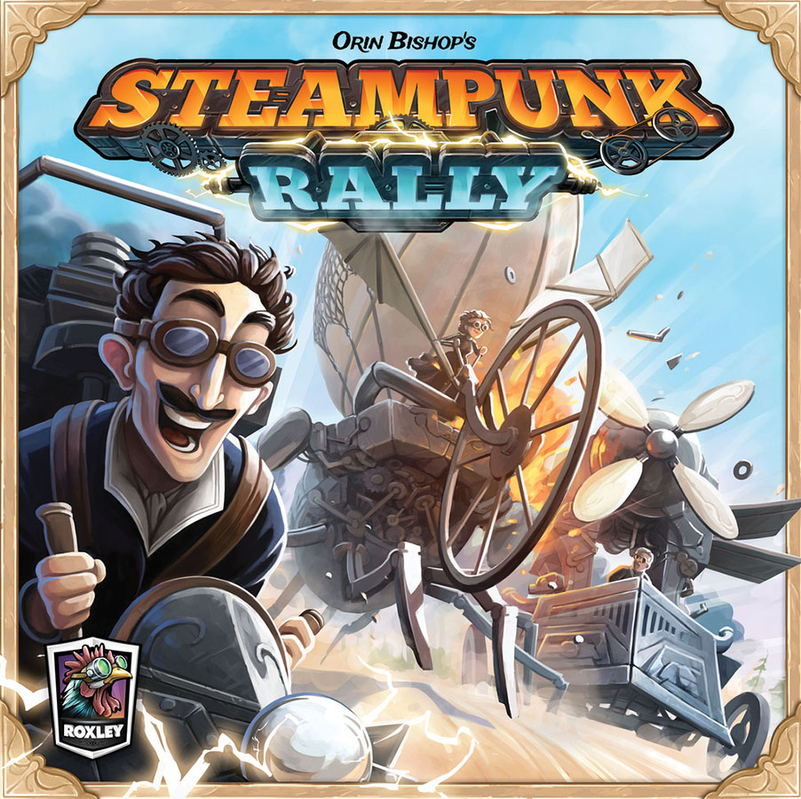 Steampunk Rally Box Front
