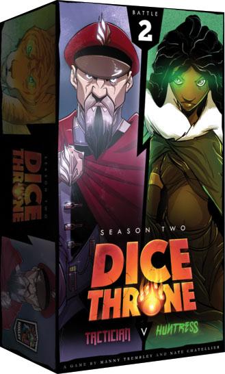 Dice Throne: Season 2 - Tactician Vs Huntress Game Box