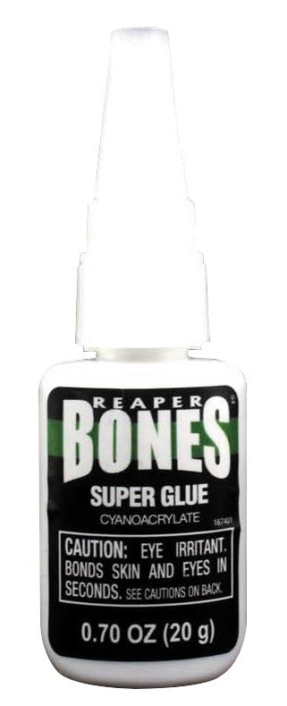 Glue: Bones Super Glue .70oz/20g Bottle Box Front