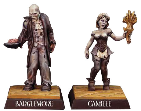 Reaper Special Edition: Reapercon 2018 Barglemore & Camille Game Box