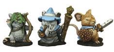 Dark Heaven: Mouslings Wizard Archer Warrior Box Front