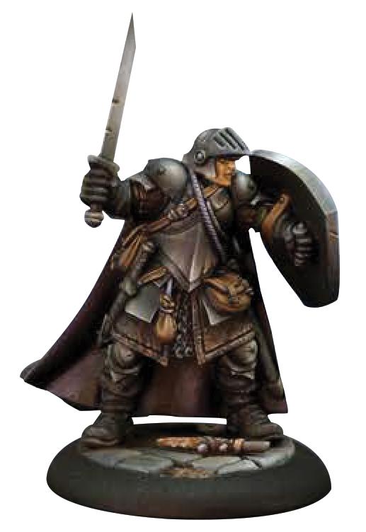 Dungeon Dwellers: Baran Blacktree, Veteran Warrior Box Front