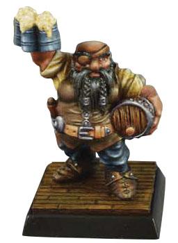 Dungeon Dwellers: Jalarak Leadbarrels, Dwarf Brewmaster Game Box