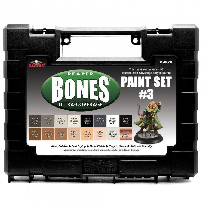 Master Series Paints: Bones Ultra-coverage Paint Set 3