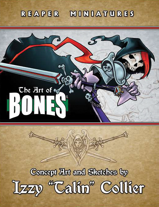 The Art Of Bones By Izzy `talin` Collier Box Front