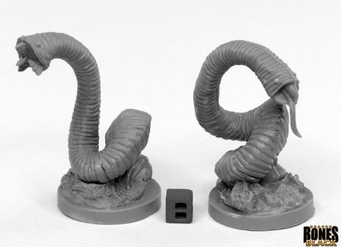Dark Heaven: Bones Giant Leeches (2) Game Box