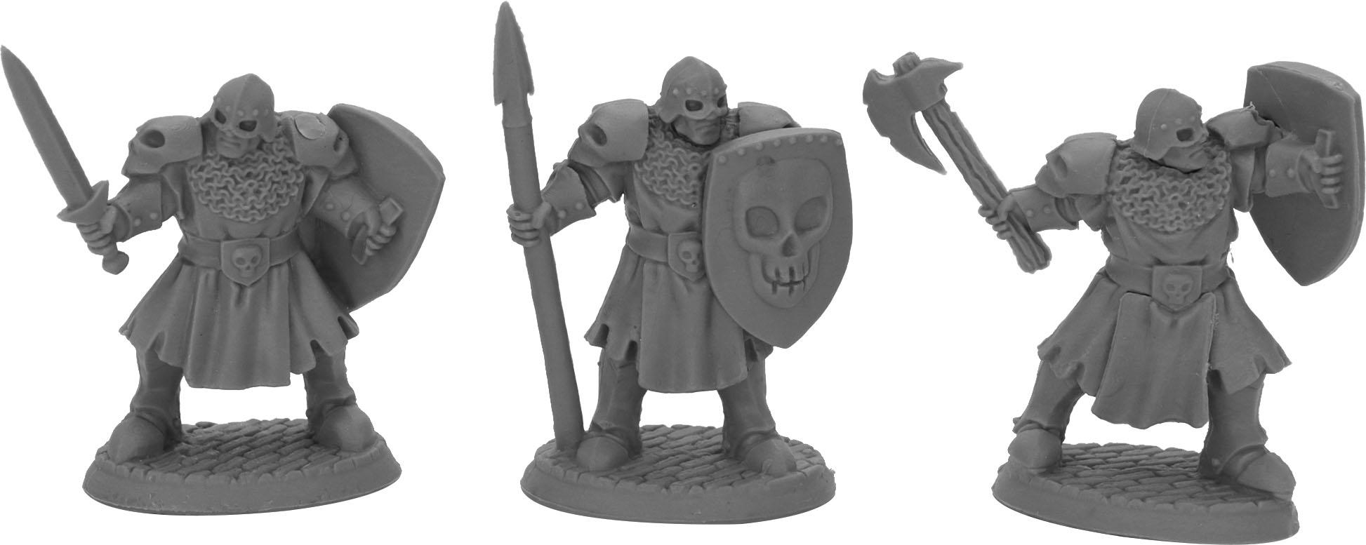 Dark Heaven: Bones Maggotcrown Men At Arms (3) Game Box