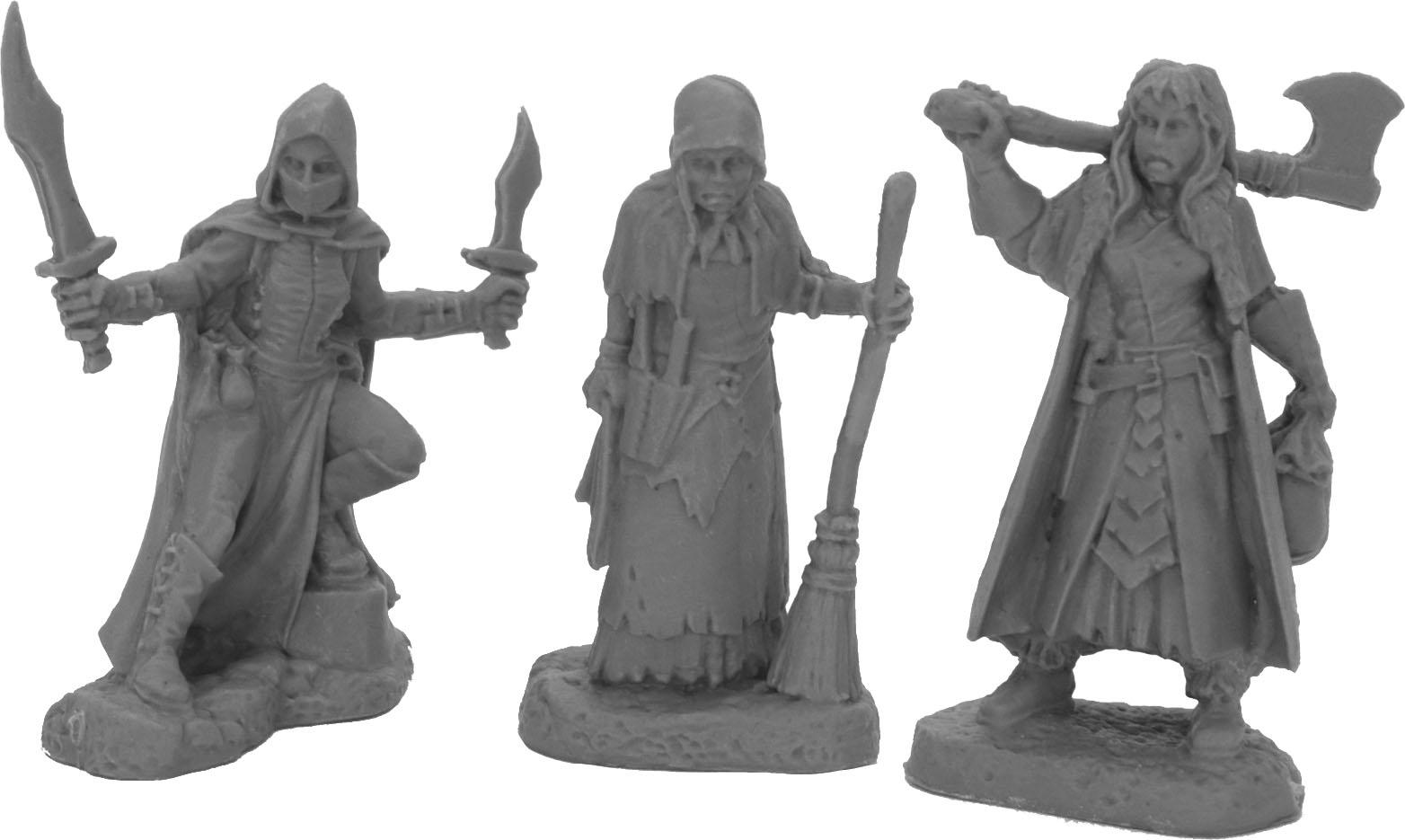 Dark Heaven: Bones Women Of Dreadmere (3) Game Box