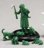 Chronoscope Modern Miniatures: Edna Crazy Cat Lady Box Front