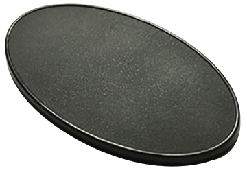 Reaper Base Boss: 90mm X 52mm Oval Gaming Base (10) Box Front